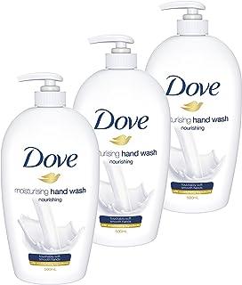 Dove Hand Wash, Nourishing, 500ml, Pack of 3