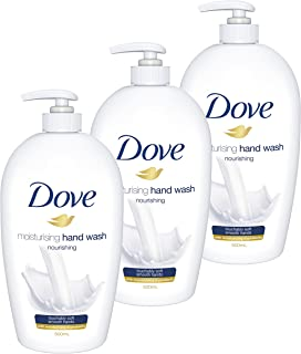 Dove Hand Wash Nourishing, 3 x 500ml
