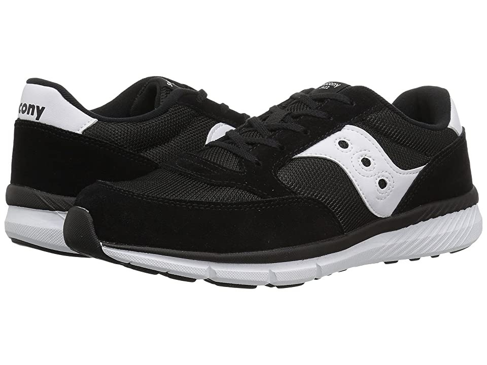 Saucony Kids Originals Jazz Lite (Little Kid/Big Kid) (Black) Kids Shoes