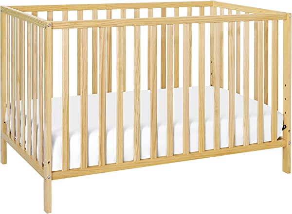 Union 2 In 1 Convertible Crib Natural