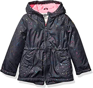 Osh Kosh Baby Girls Midweight Fleece-Lined Anorak