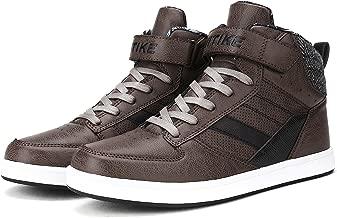 ASHION Hombre High Top Shoes Zapatillas Unisex Niños Zapatillas Altas para Mujer
