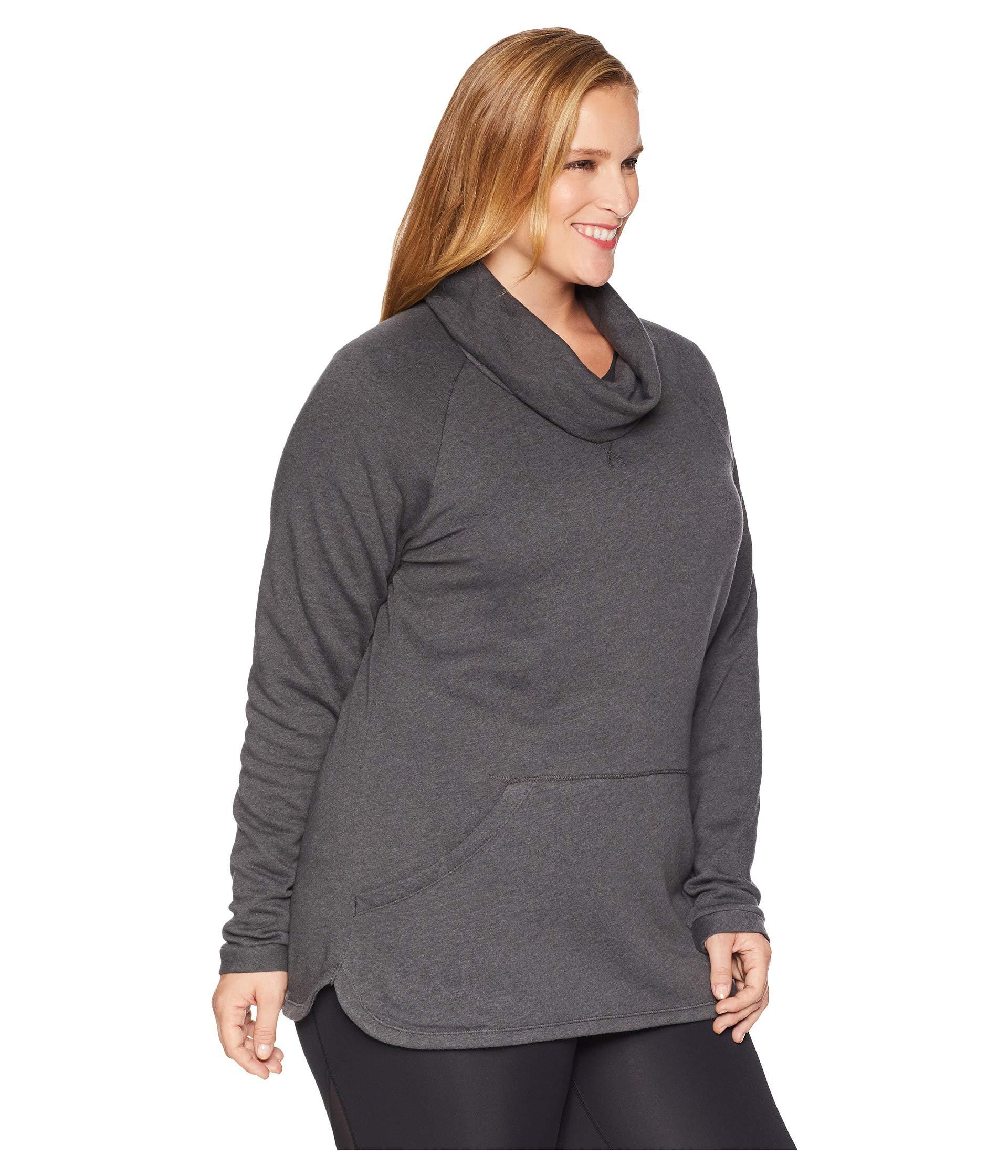 Size Plus Wanderer™ Charcoal Weekend Heather Columbia Pullover q7TdwxB5