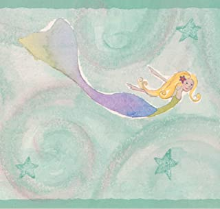 mermaid wallpaper border