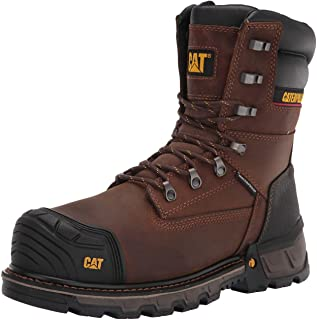"Caterpillar Excavator XL 8"" Waterproof Thinsulate Composite Toe Work Boot 's / -"