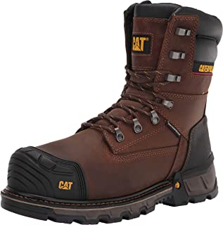 "Caterpillar Excavator XL 8"" Waterproof Thinsulate Composite Toe Work Boot 's / -"