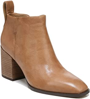 Vionic Vienna Lyssa Leather Women's Fashion Ankle Boot- Supportive Ladies Short Booties That Include Three-Zone Comfort wi...