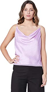 Finders Keepers Women's Whisper CAMI, Lilac Spot