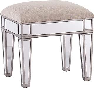 Best mirrored vanity stool Reviews