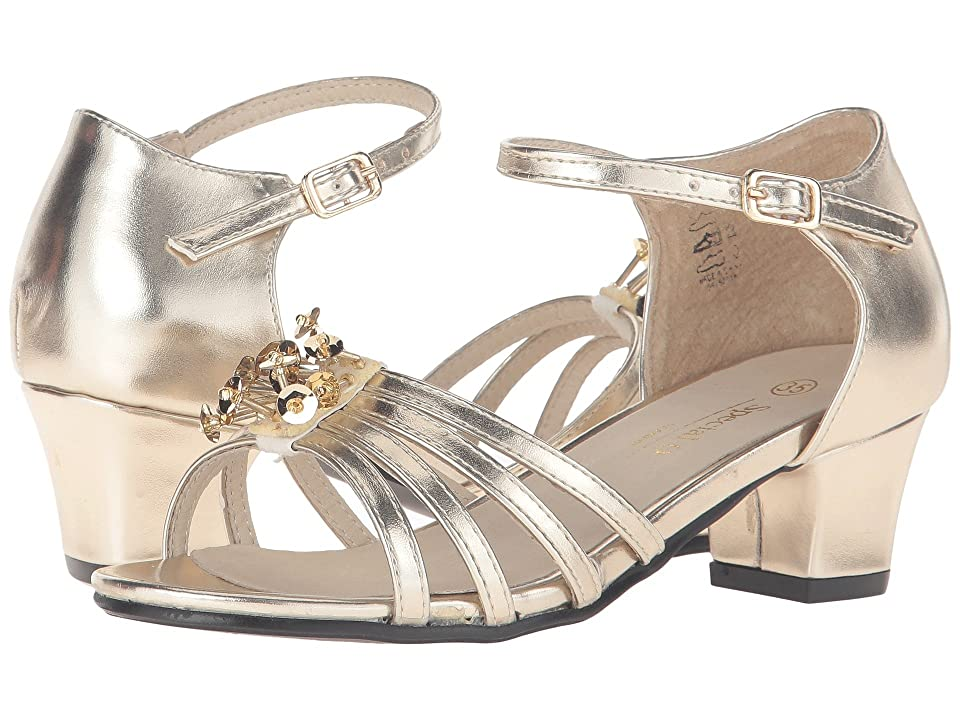 Pazitos Stardust Sandal (Little Kid/Big Kid) (Gold) Girls Shoes