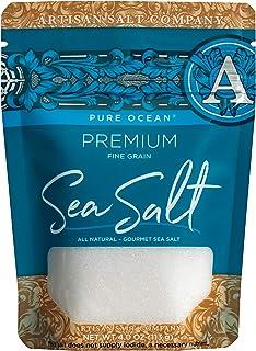 SaltWorks Pure Ocean Premium Sea Salt, Artisan Zip-Top Pouch, 4 Ounce