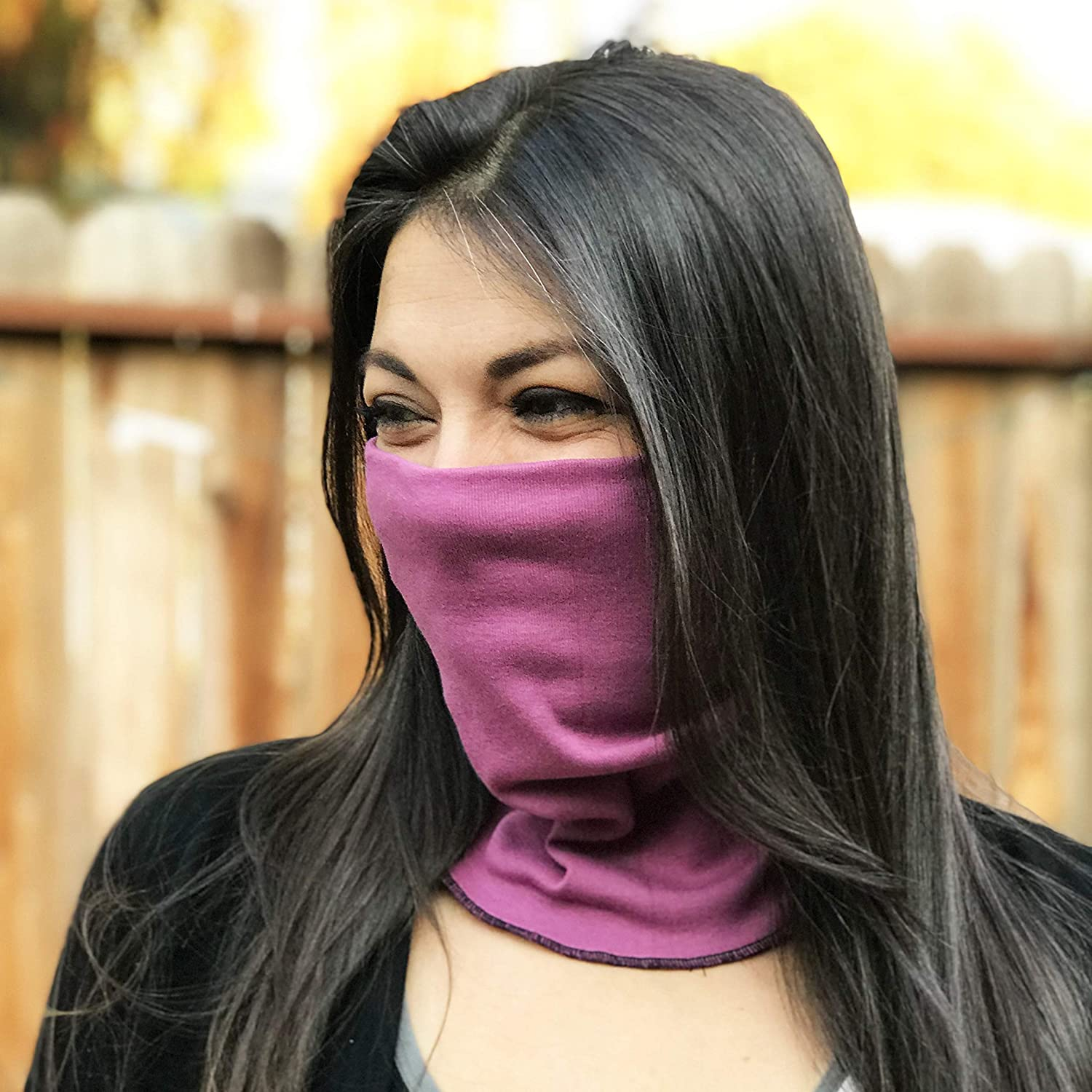 Pink Purple Organic Cotton Scarf Face Adults Fresno Mall and Mask kids Under blast sales m for
