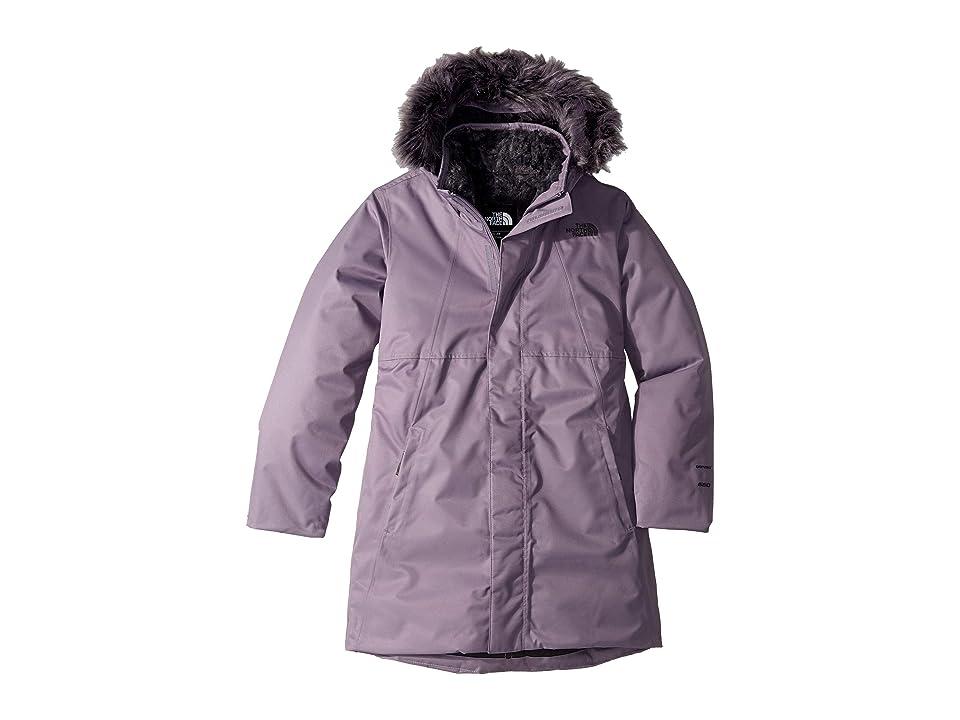 The North Face Kids Arctic Swirl Down Jacket (Little Kids/Big Kids) (Purple Sage) Girl