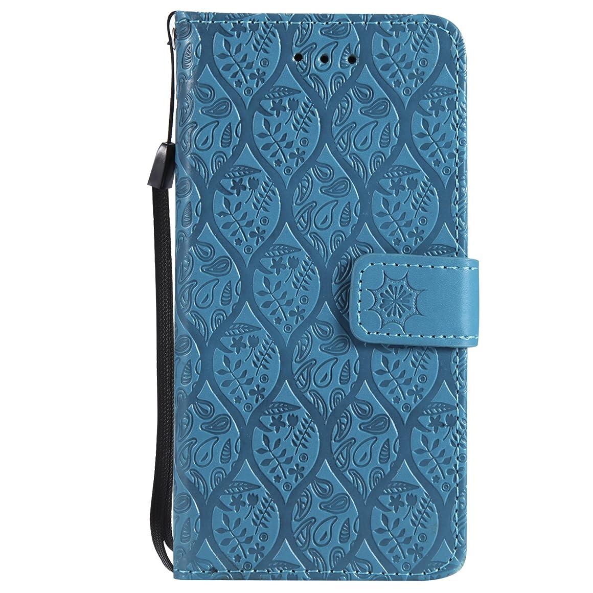 スペシャリスト休日にジャーナルLomogo Sony Xperia XZ2コンパクト / XZ2 Compact ケース 手帳型 耐衝撃 レザーケース 財布型 カードポケット スタンド機能 マグネット式 エクスぺリアXZ2 Compact 手帳型ケース カバー 人気 - LOYYO24341 青