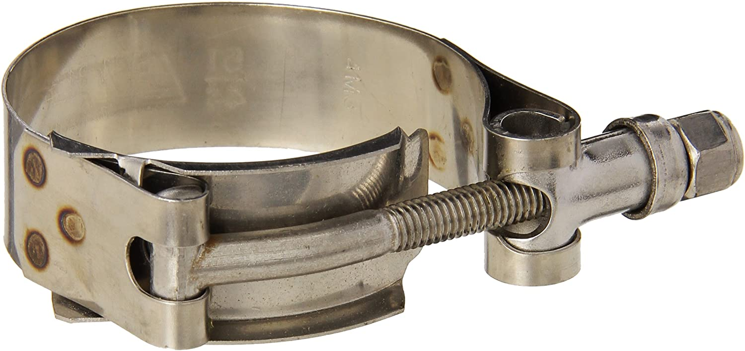 "Shields Marine Grade Stainless Steel T Bolt Hose Clamp 2-1//8/"" to 2-1//2/"""