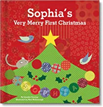 Personalized Christmas Book for Kids Baby's 1st Christmas