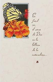 Happy Mother's Day Religious Greeting Card in Spanish / Deseandote un Dia de las Madres Lleno de Bendiciones -