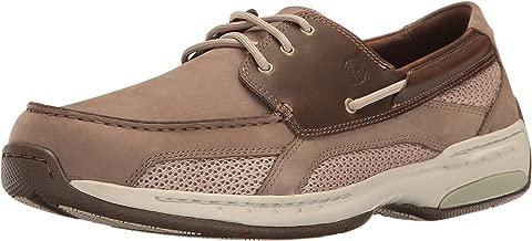 Dunham Men's Captain Boat Shoe, Taupe, 10.5 2E US