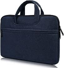 15.6 Inch Laptop Briefcase Bag for Acer Aspire E 15/Chromebook 15 | Dell Inspiron 15 | Lenovo Yoga 710/720/730 15.6 | ASUS VivoBook F510UA, HP Toshiba MSI Chromebook Notebook Tablet Bag, Navy Blue