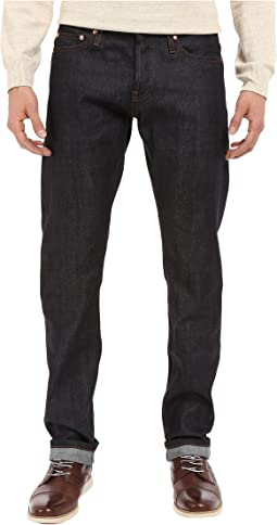 The Unbranded Brand - Tapered in 11 OZ Indigo Stretch Selvedge
