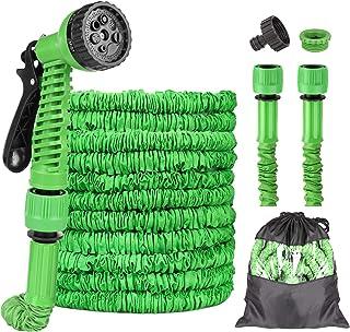 Garden Hose, 75ft Flexible Garden Hose, 22.5m Expandable Garden Hose Pipe Water Hose with 7 Function Spray Gun Hand Shower