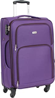 Toile Nylon Ultra L/éger 4 Roues Valise Taille Cabine Alistair One 55cm Violet