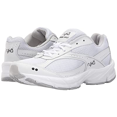 Ryka Brisk Walk (White) Women