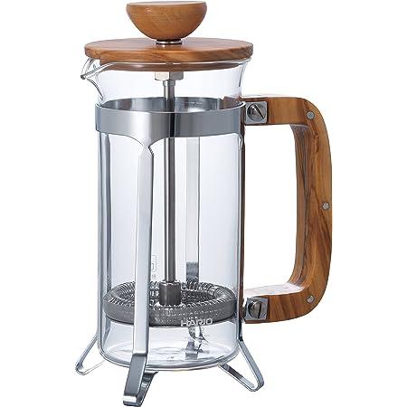 HARIO (ハリオ) カフェプレス ウッド コーヒー & ティー プレス 2人用 CPSW-2-OVマルチ