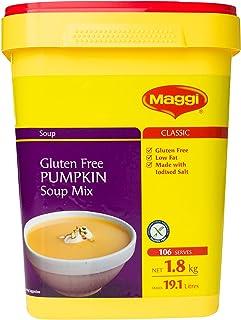 MAGGI Gluten Free Pumpkin Soup Mix, 1.8kg (Makes 19.1 litres, 106 Serves)