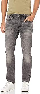 A|X Armani Exchange Men's J13-Slim Fit, Grey Denim, 36S