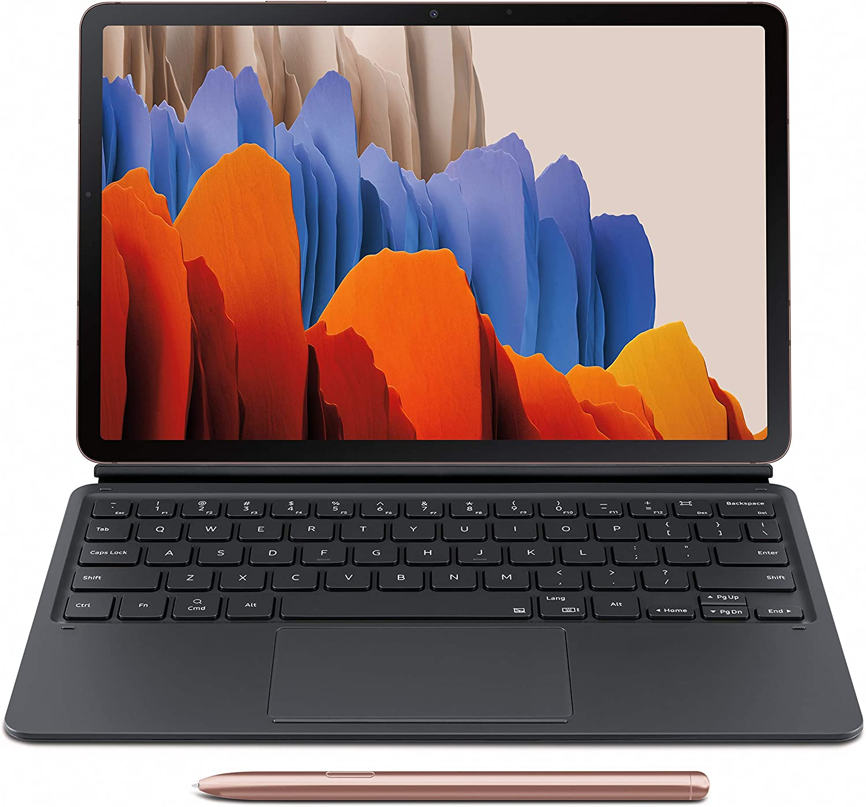 SAMSUNG Galaxy Tab S7 11-inch Android Tablet 128GB Wi-Fi Bluetooth S Pen Fast Charging USB-C Port, Mystic Bronze
