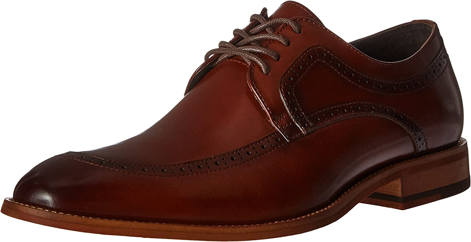 STACY ADAMS Men's Men's Dwight Moc Toe Oxford, Cognac, 11 W US  online Shop