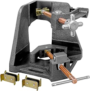 Strong Hand, 3-Axis Fixture Vise with Quick Acting Screw, Two Stand-Offs, Swing Away Arm with 3.75-Inch Miter Joint, 2.45-...