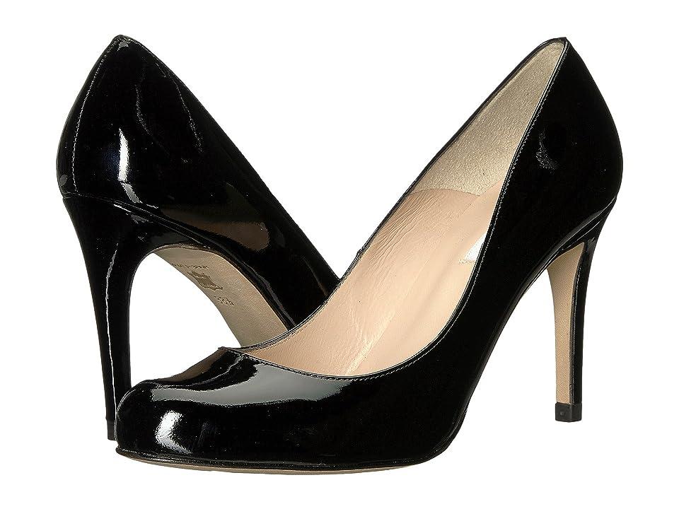 L.K. Bennett Stila (Black Patent) High Heels