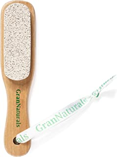 GranNaturals Pumice Stone Brush for Feet with Handle