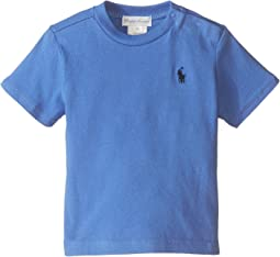 Ralph Lauren Baby 20/1 Jersey Cotton Tee (Infant)