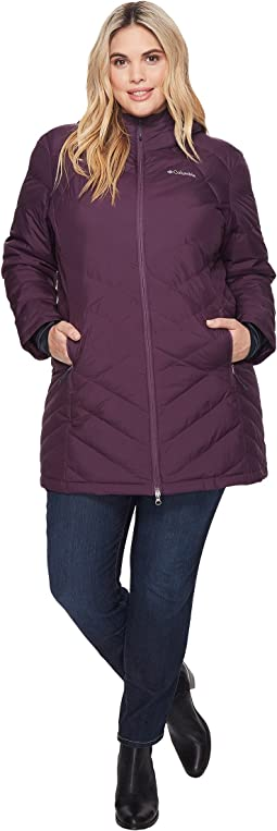 Columbia - Plus Size Heavenly Long Hooded Jacket