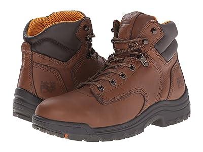 Timberland PRO TiTAN(r) 6 Soft Toe (Coffee Full-Grain Leather) Men