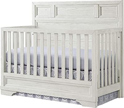 Westwood Design 4 in 1 Convertible Crib, Foundry, White Dove