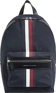 Tommy Hilfiger Elevated Stripe Mens Backpack Blue