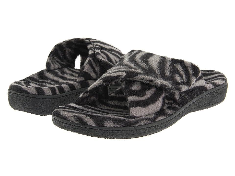 VIONIC Relax (Dark Grey Zebra) Women