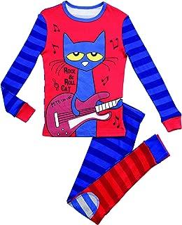 Pete the Cat Boys' 2-Piece Snug Fit Pajama Set