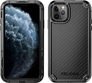 Pelican iPhone 11 Pro Max Case, Shield Case - Military Grade Drop Tested – Dupont Kevlar Carbon, TPU, Polycarbonate Protective Case for Apple iPhone 11 Pro Max (Black)