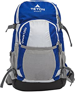 TETON Sports Oasis 1200 Hydration Pack; Free 3-Liter Hydration Bladder; Backpacking, Hiking, Running, Cycling, and Climbing