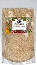 Natural Whole Grain Oat Groats, 14 lb, Made in USA, High in Fiber, De-Hulled, Uncut & Unrolled, High in Fiber, Fresh