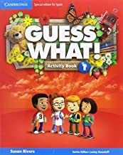 Guess What Special Edition for Spain Level 1 Activity Book with Guess What You can Do at Home & Online Interactive Activities  - Pack de 3 libros - 9788490360422