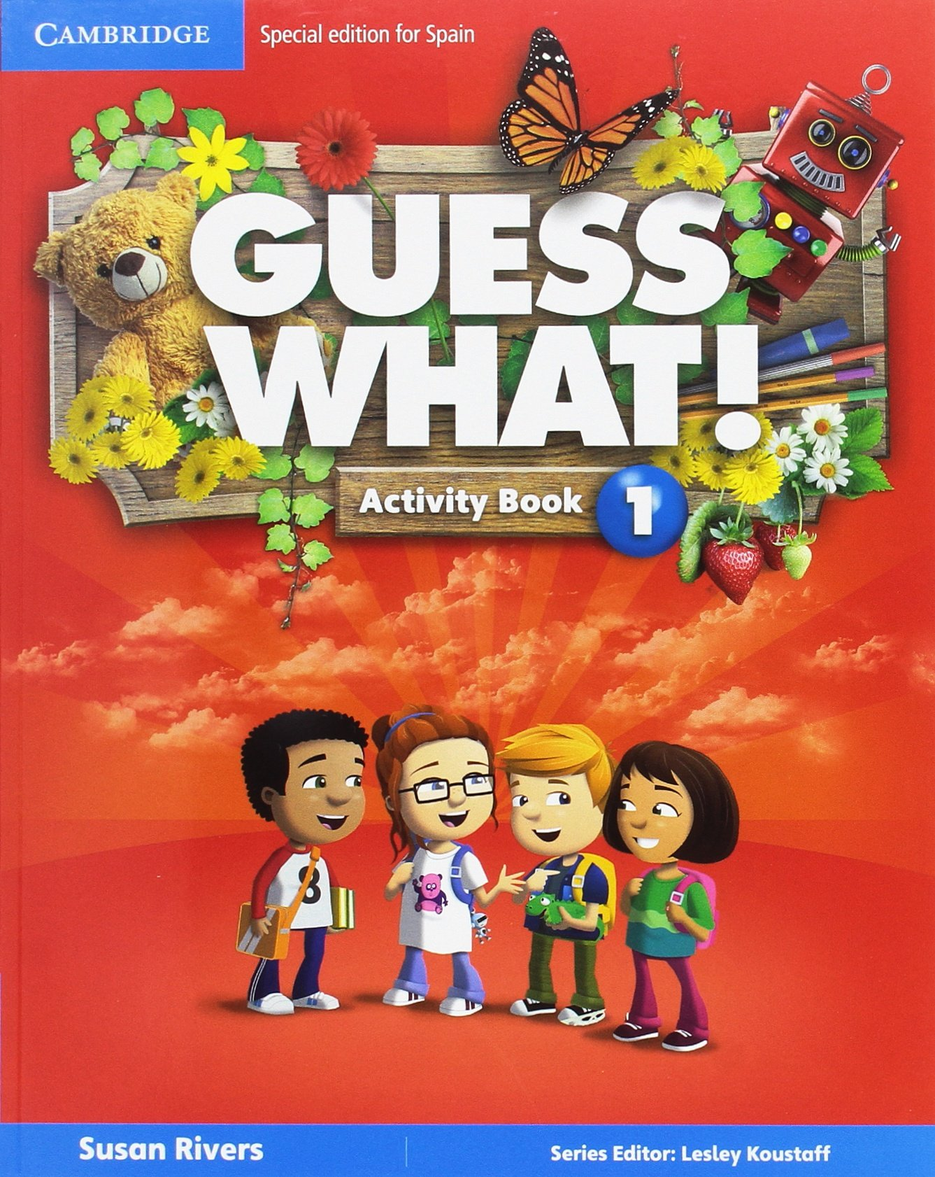 Guess What Special Edition for Spain Level 1 Activity Book with Guess What You can Do at Home & Online Interactive Activit...