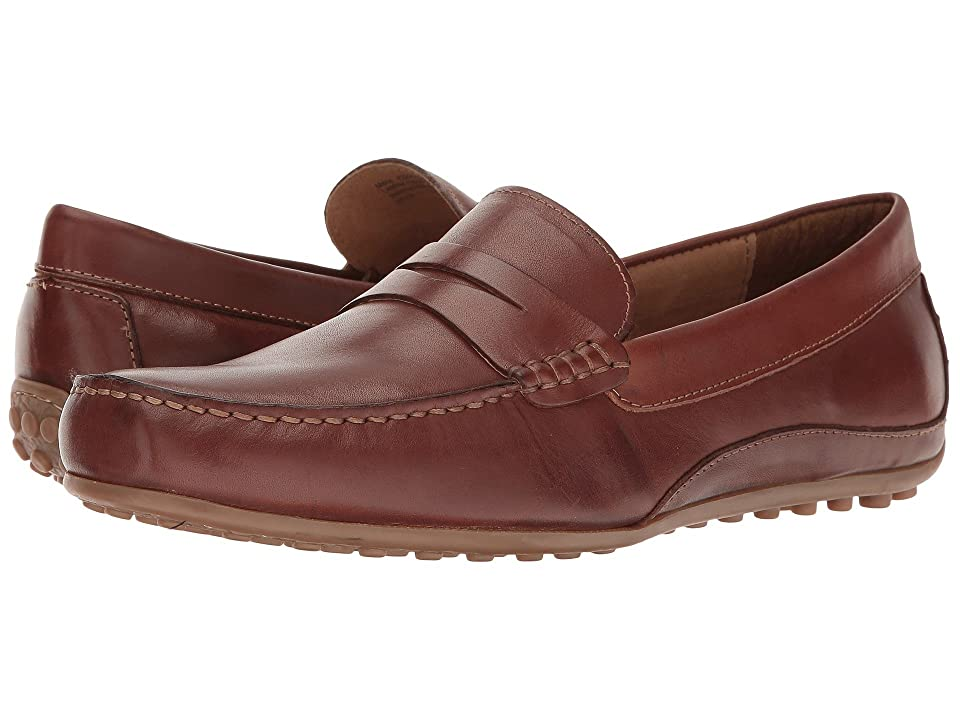 Florsheim Oval Penny Driver (Cognac Smooth) Men