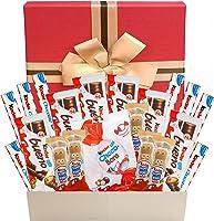 Caja de regalo de chocolate Kinder Variedad Caja de selección de chocolate Cesta de regalo de chocolate de última hora...