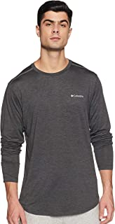 Columbia Men's Tech Trail II Long Sleeve Crew Tees And T-Shirts